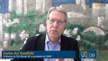 Ameaças de Bolsonaro são 'teatro' e não há risco de ruptura institucional, diz Sundfeld