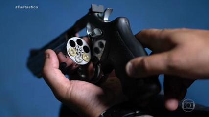 Estudo descobre que armas apreendidas em quatro crimes diferentes tiveram origem no mesmo roubo a cofre