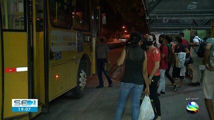 Confira a movimentação nos ônibus no primeiro dia de escalonamento do comércio em Aracaju