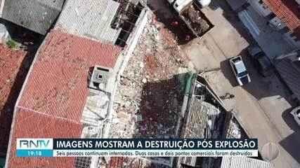 Itep dá início a perícia para encontrar causa da explosão que deixou 6 feridos nas Roc
