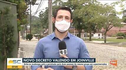 Joinville divulga novo decreto para combater a Covid-19