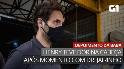 VÍDEO: Em depoimento, babá relata que Henry estava com dor de cabeça após momento com Dr. Jairinho