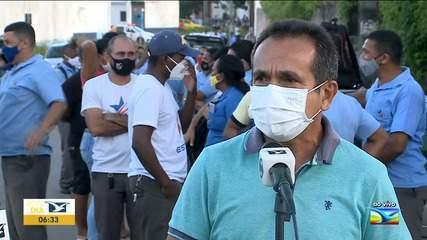 Continua paralisação de funcionários de empresa de ônibus em São Luís