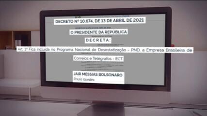 Bolsonaro confirma Correios no Programa Nacional de Desestatização
