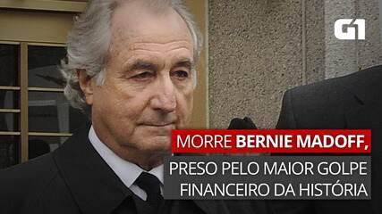 VÍDEO: morre Bernie Madoff, preso por pirâmide financeira