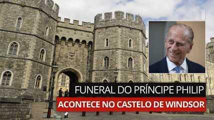 VÍDEO: funeral do Príncipe Philip acontece no Castelo de Windsor