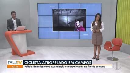 Polícia identifica carro que atingiu e matou ciclista neste fim de semana em Campos