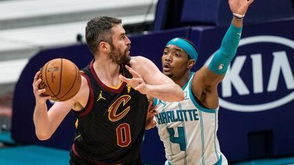 Melhores momentos: Charlotte Hornets 90 x 103 Cleveland Cavaliers pela NBA