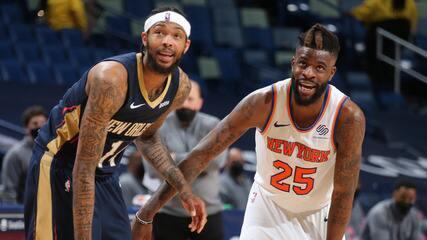 Melhores momentos: New Orleans Pelicans 106 x 116 New York Knicks pela NBA