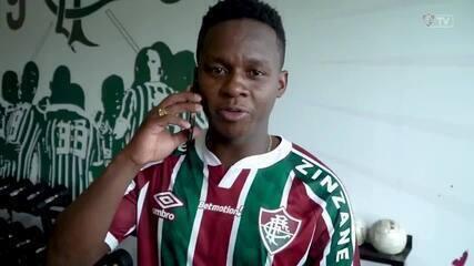 Em vídeo oficial, Fluminense anuncia contratação de Cazares