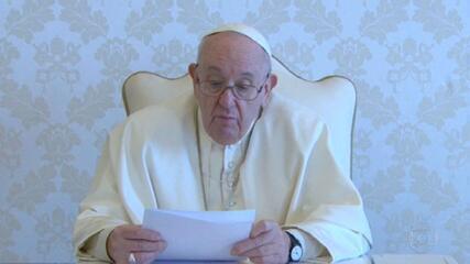 Papa Francisco envia mensagem aos brasileiros