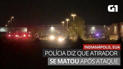 VÍDEO: Polícia afirma que atirador se matou após ataque em Indianápolis, EUA