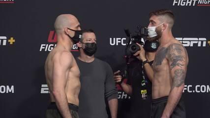 Veja as encaradas do UFC Whittaker x Gastelum