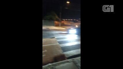 Moradores flagram motoristas fazendo rachas no Jardim Carvalho, em Ponta Grossa