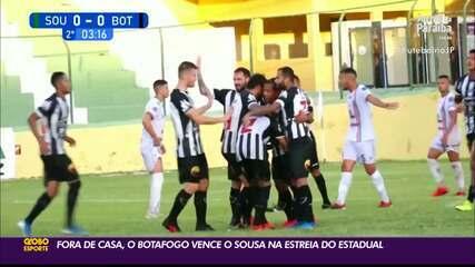 Botafogo-PB vence o Sousa em sua estreia no Campeonato Paraibano