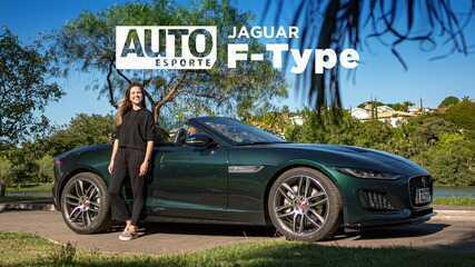 Jaguar F-Type conversível tem motor de Range Rover Evoque e preço abaixo dos R$ 500 mil