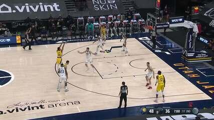 Melhores momentos: Utah Jazz 119 x 111 Indiana Pacers pela NBA
