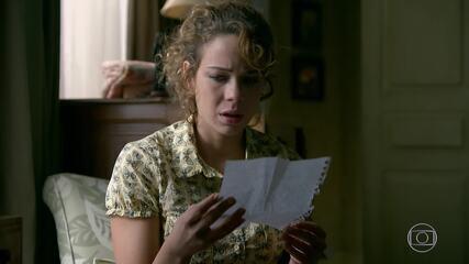 Cristina descobre que é filha de Zé Alfredo