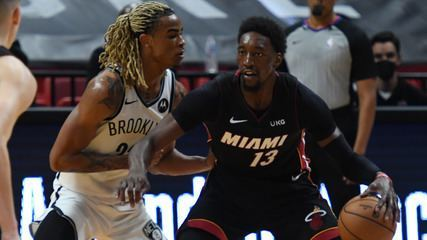Melhores momentos: Miami Heat 109 x 107 Brooklyn Nets pela NBA