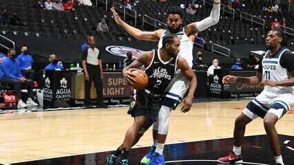 Melhores momentos: Los Angeles Clippers 124 x 105 Minnesota Timberwolves pela NBA