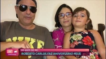 'Mais Você' homenageia Roberto Carlos pelo aniversário de 80 anos