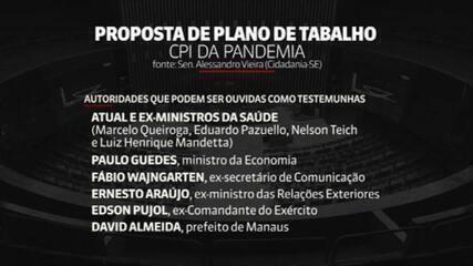 CPI da Covid: ministros de Bolsonaro devem ser convocados
