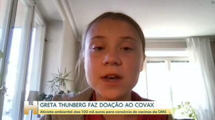 Greta Thunberg diz que Bolsonaro fracassou no combate à pandemia e em ações ambientais