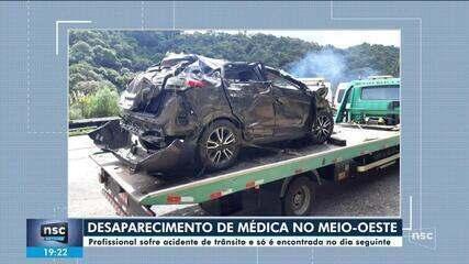 Médica de Curitibanos que estava desaparecida é encontrada na BR-470