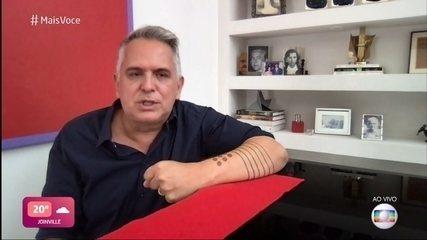 Orlando Morais conta como foi período de internação por Covid-19