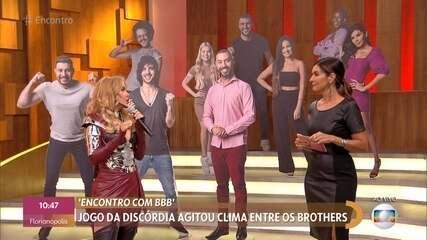 Fátima e Joelma comentam jogo da discórdia no 'BBB21'