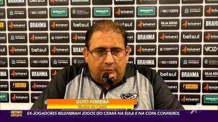 Ex-jogadores do Ceará relembram jogos pela Sul-Americana e Copa Conmebol