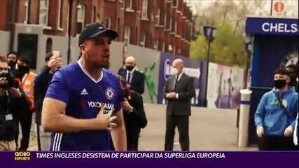 Times ingleses desistem de participar da Superliga Europeia