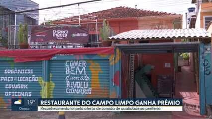 Restaurante no Campo Limpo ganha prêmio internacional de gastronomia