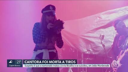 Cantora e influencer de João Monlevade é morta pelo namorado, que se matou em seguida
