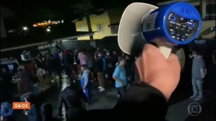 Operação da polícia fecha balada em Carapicuíba, na Grande SP