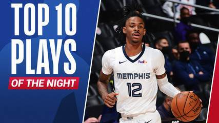 Top 10: As melhores jogadas da noite desta quarta na NBA