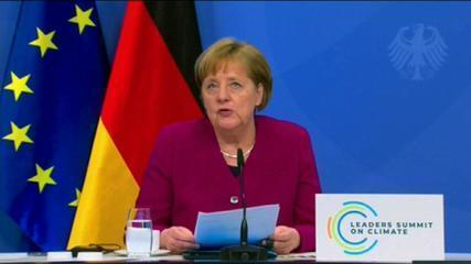 VÍDEO: Angela Merkel discursa na Cúpula de Líderes sobre o Clima
