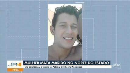 Mulher mata marido em Araquari