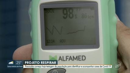 Projeto RespirAr inicia testagem em massa para Covid-19 em Piracicaba