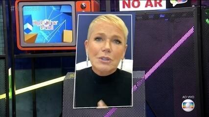 Xuxa comenta sobre o jogo dos brothers e dá emojis no queridômetro