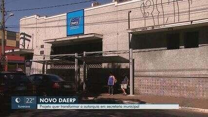 Câmara vota transformação do Daerp em secretaria municipal de Ribeirão Preto