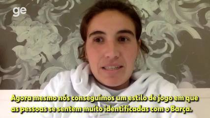 """""""Creio que esse time feminino representa o DNA do Barça"""", afirma Mariona Caldentey"""