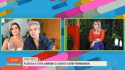 Flávia Alessandra e Otaviano Costa falam sobre seus 15 anos juntos