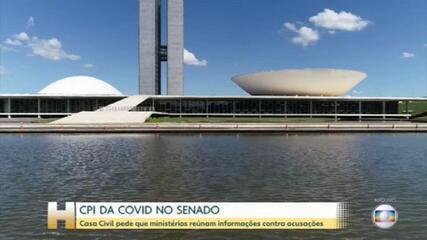 CPI da Covid: Casa Civil pede que ministérios reúnam informações contra acusações