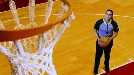 Conheça a árbitra de basquete que vai representar o Brasil nas Olimpíadas