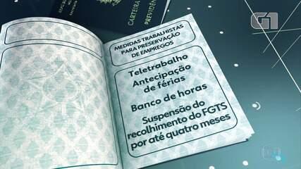 Bolsonaro assina MP com mudanças nas regras trabalhistas na pandemia
