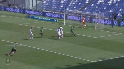 Melhores Momentos: Sassuolo 1 x 1 Atalanta pelo Campeonato Italiano