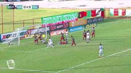 Melhores momentos: Portuguesa-RJ 1 x 1 Fluminense, pela semifinal do Campeonato Carioca