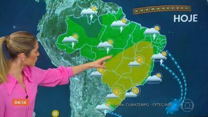 Previsão do tempo: risco de temporal para algumas áreas do Norte e Nordeste