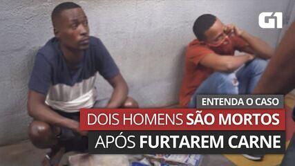 VÍDEO: Entenda o caso dos dois homens mortos após furtar carne em mercado de Salvador